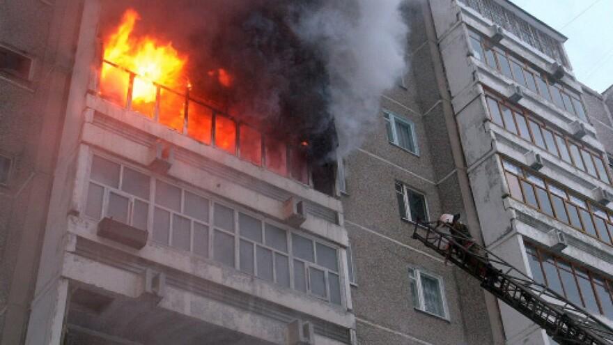 В Советском районе Самары горела квартира