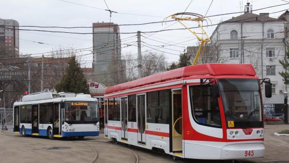 В Самаре остановили движение трамваев на улице Победы