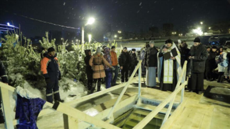 На Крещение в Самаре официальная купель откроется только на Полевом спуске