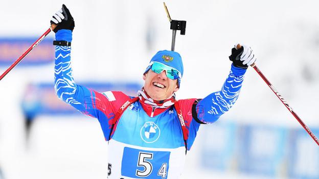 Эдуард Латыпов спортсмен из Самары завоевал серебряную медаль на Кубке мира по биатлону в День своего рождения