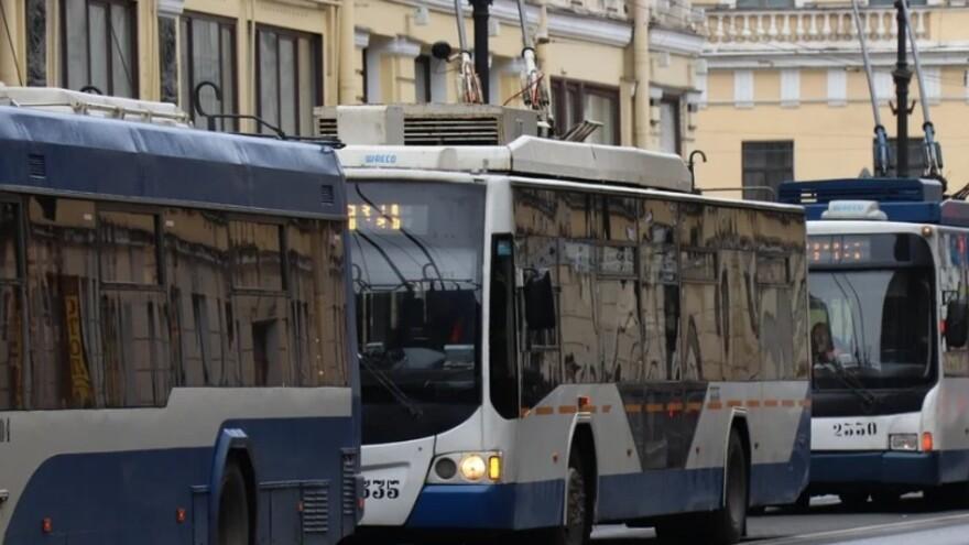 В Тольятти встали троллейбусы