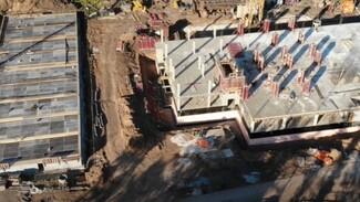 В Самаре строят второй этаж нового здания ГИБДД