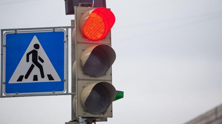 В Самаре изменили режим работы светофоров у парка Гагарина