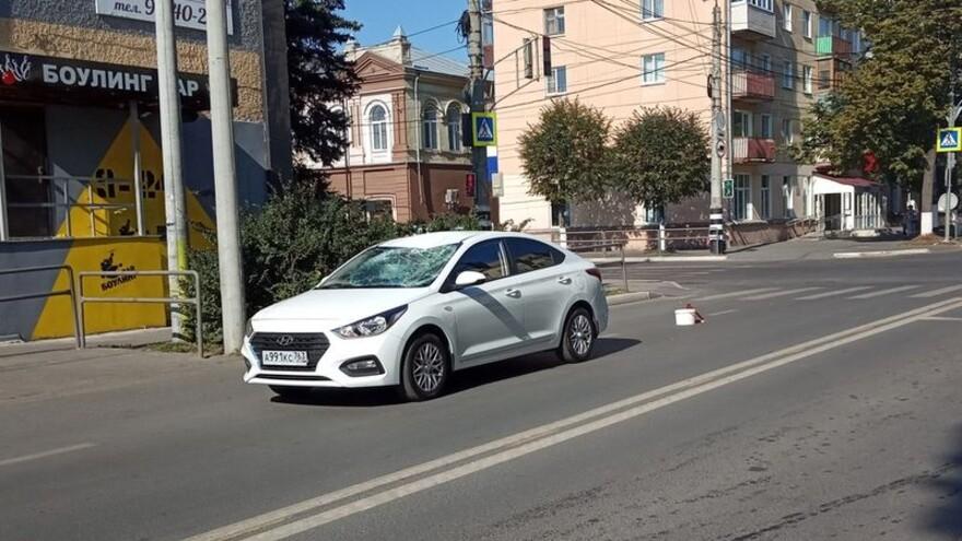 В центре Сызрани сбит пешеход
