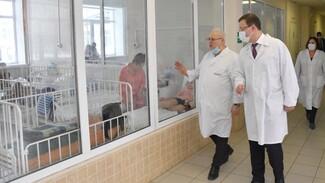 В детской инфекционной больнице Самары построят новый корпус