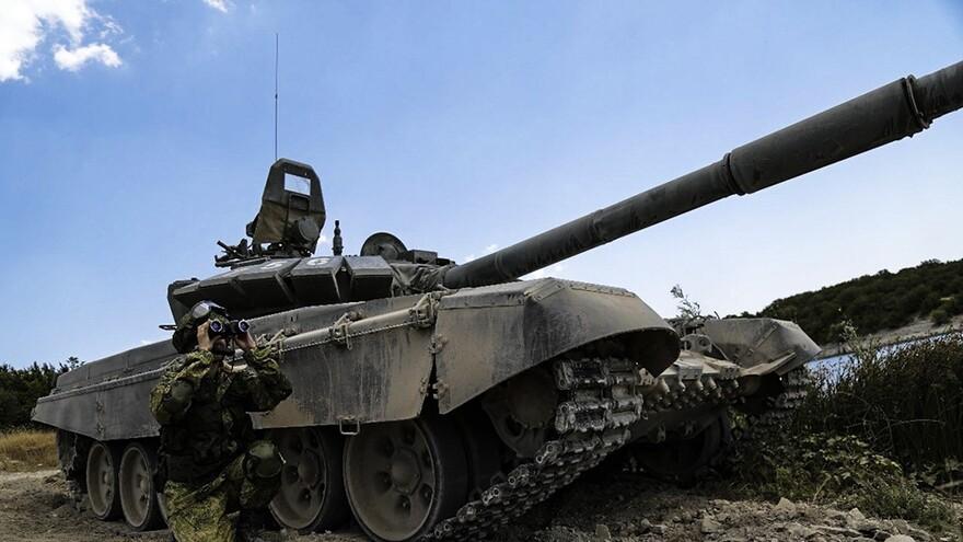 В Самаре отмечают День сухопутных войск России
