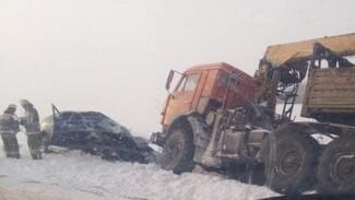 На трассе в Самарской области произошло смертельное ДТП