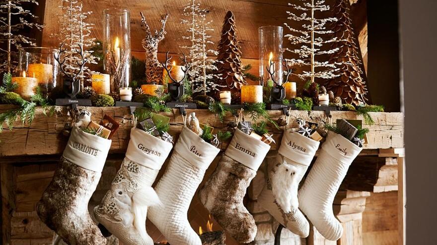 Идеи декора для дома на Новый год из природных материалов