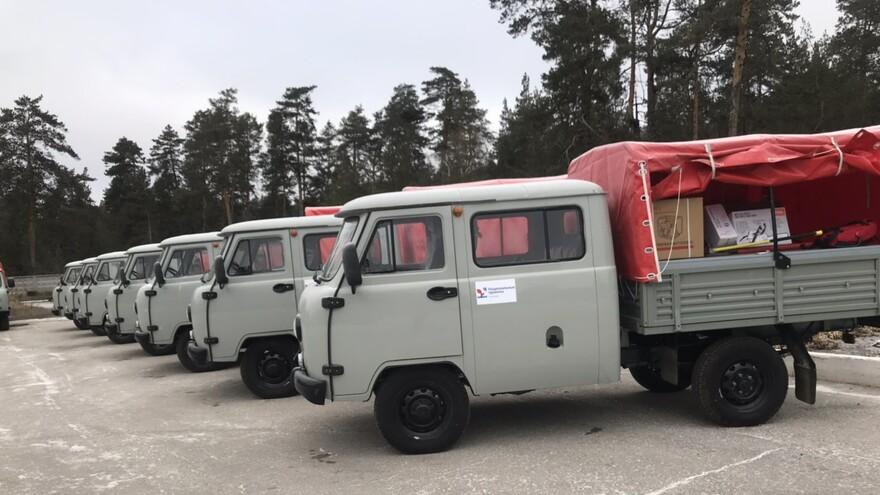 24 спецмашины получили  подразделения по борьбе с лесными пожарами Самарской области