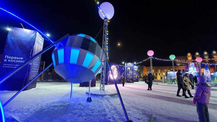 В новогоднюю ночь в Самаре ограничат движение транспорта у площади Куйбышева