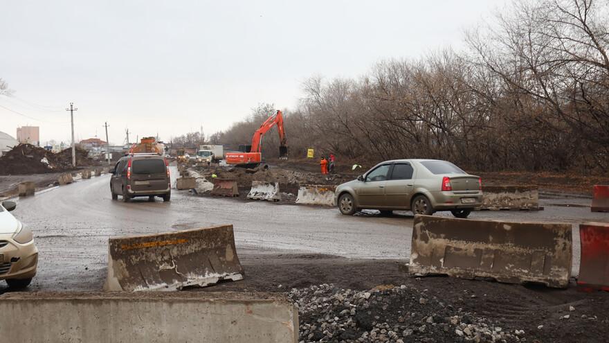 В Самаре ремонт Заводского шоссе закончится в 2020 году