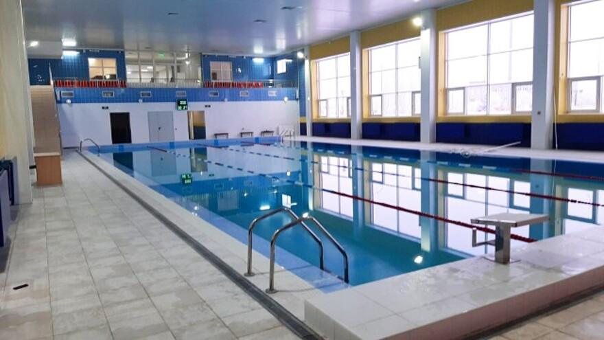 В селе Большая Глушица открылся бассейн