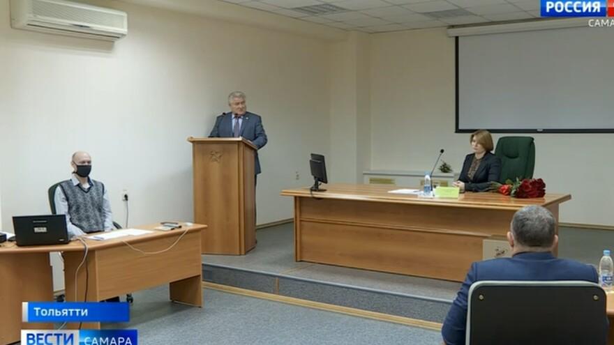 В Тольятти представили нового руководителя Поволжского государственного университета
