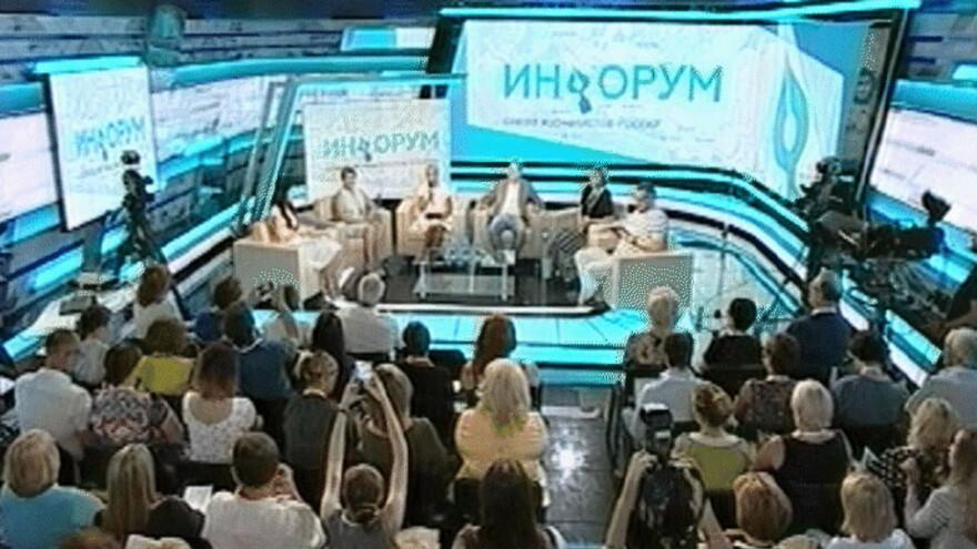 Главная студия ГТРК «Самара» сегодня превратилась в площадку медиафорума для региональных СМИ