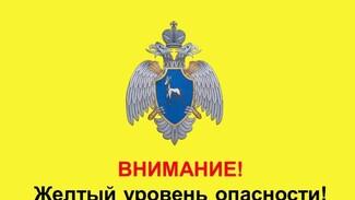 В Самарской области из-за морозов объявлен желтый уровень опасности