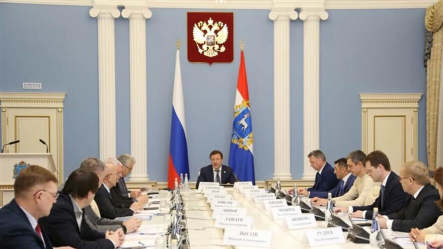 Глава региона Дмитрий Азаров принял участие в заседании попечительского совета баскетбольного клуба «Самара»