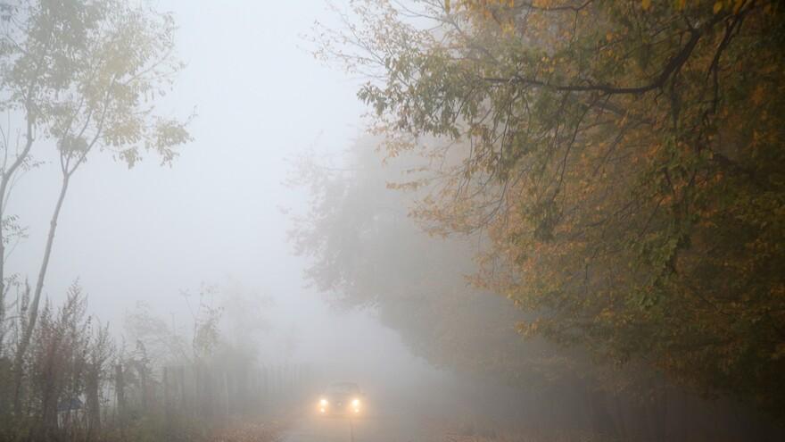 В Самарской области из-за тумана объявлен желтый уровень опасности