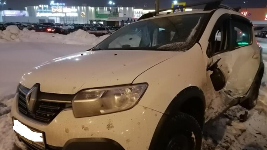 В Самаре в столкновении трех иномарок пострадал 9-летний мальчик