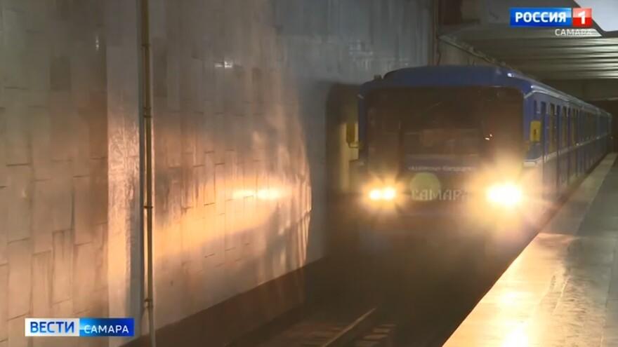 В Самару доставили вагоны метро после капитального ремонта