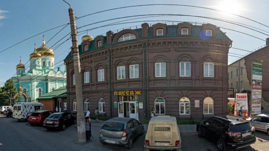 В Сызрани перекрыли дорогу у Центрального рынка