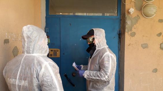 В Самаре сотрудники полиции проверяют граждан вернувшихся из-за границы