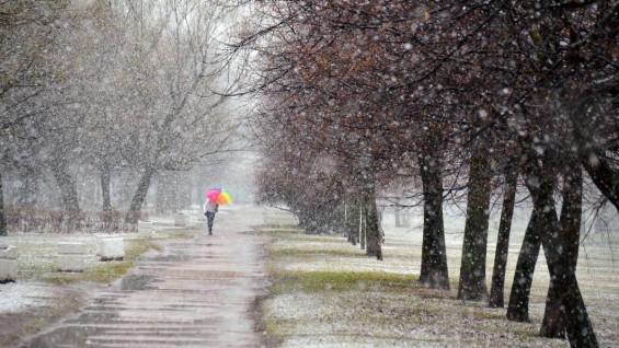 В Самарской области снова выпадет снег