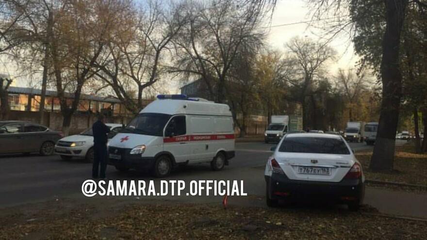 В Самаре произошло ДТП с участием скорой помощи