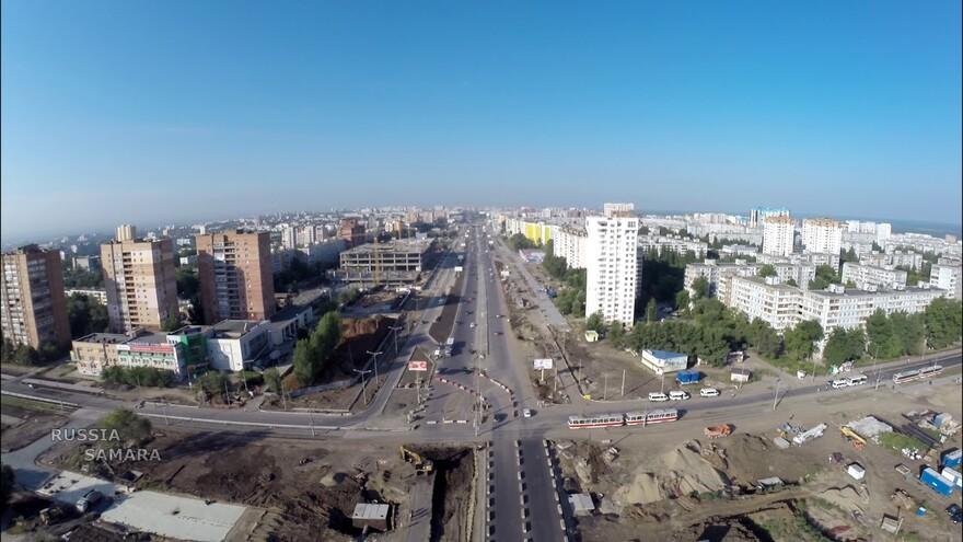 В Самаре откроют движение по улице Ташкентской