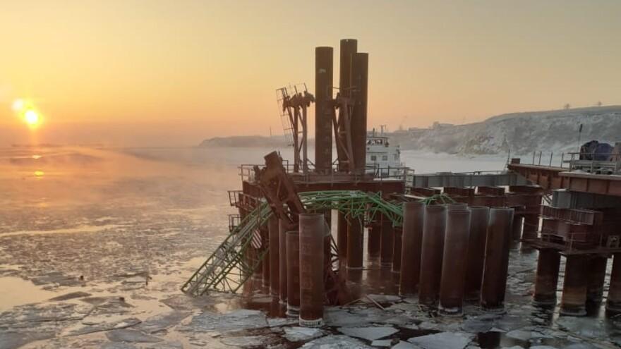 Семьи погибших на стройке моста у Климовки получат по 1 миллиону рублей