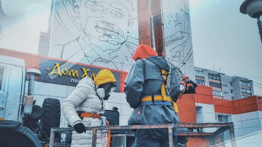 В Сургуте самарские художники создадут мурал-арт с изображением Дамира Юсупова