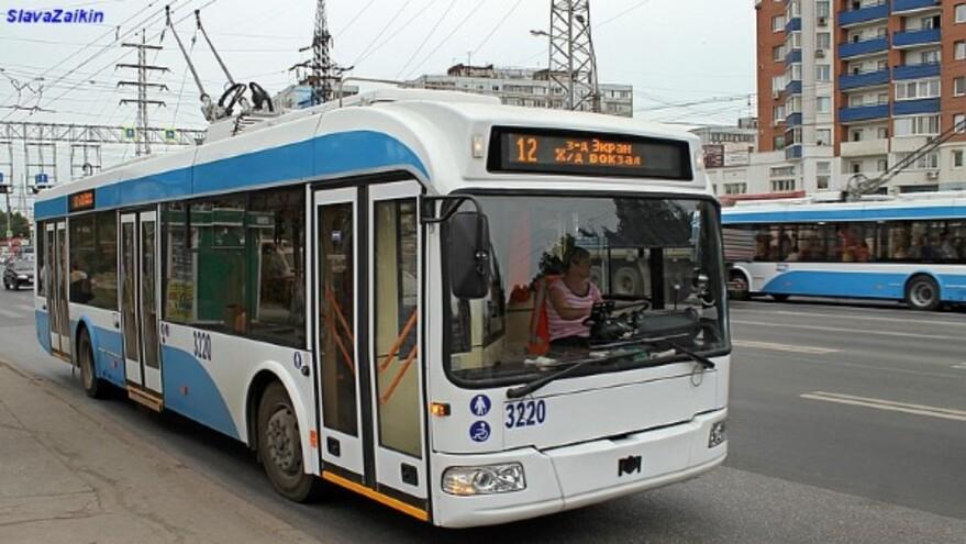 На Московском шоссе в Самаре вновь курсируют троллейбусы № 4 и 12
