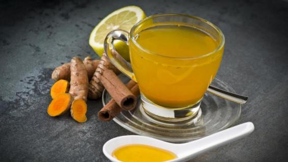 Защитить легкие от коронавируса поможет чай с куркумой