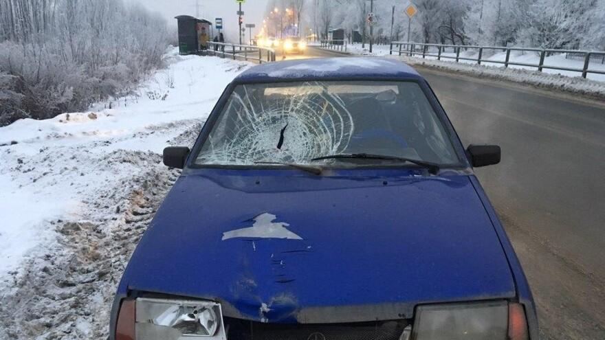 ДТП со смертельным исходом  произошло в Красноглинском районе Самары