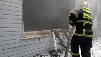 Появилось видео пожара на подшипниковом заводе, в котором погиб человек