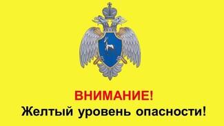 В Самарской области из-за гололеда объявлен желтый уровень опасности