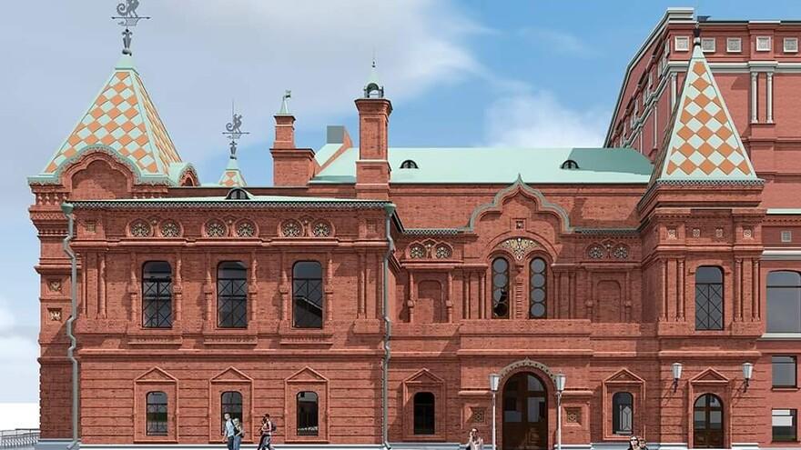 Самарский архитектор показал новый эскиз реставрации Драматического театра