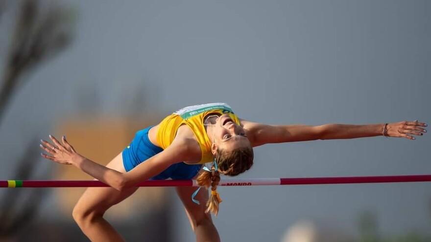 Самарская спортсменка стала лучшей в прыжках в высоту