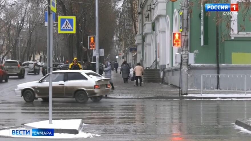 В Самаре проведён масштабный ремонт дорог