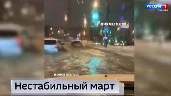 """""""Вести Самара"""": Какие еще испытания автомобилистам готовит погода?"""