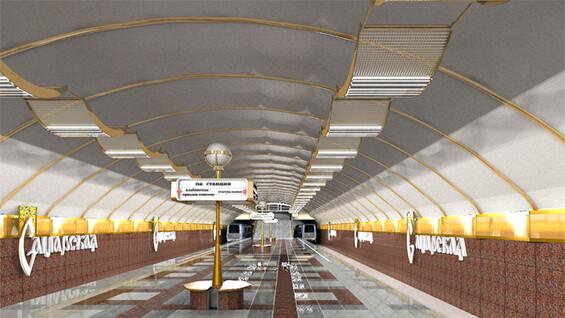 Рабочий проект станции метро «Самарская» будет отправлен на экспертизу
