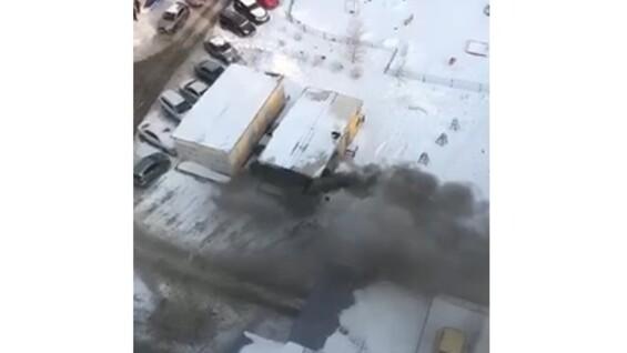 В Самаре 23 человека тушили пожар на трансформаторной подстанции