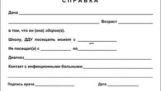 В Самарской области за медицинской справкой для школы в поликлинику ходить будет не нужно