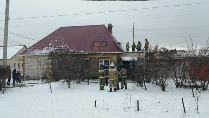 Около рынка в Сызрани вспыхнул жилой дом