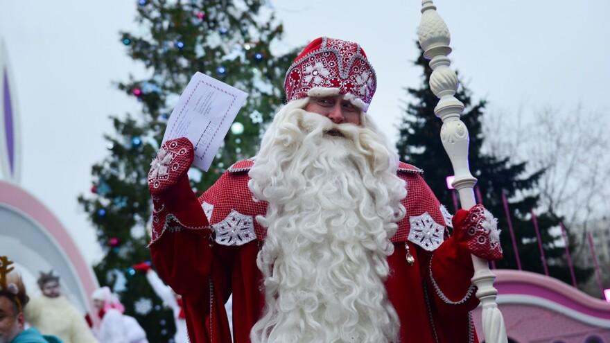 22 декабря в Самару приедет главный Дед Мороз России