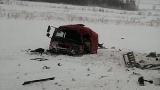 Появились кадры смертельной аварии под Сызранью с участием двух бензовозов