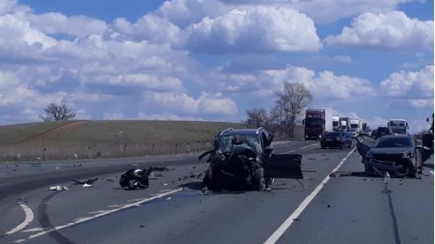 В ДТП на Обводной дороге возле Самары погибла женщина