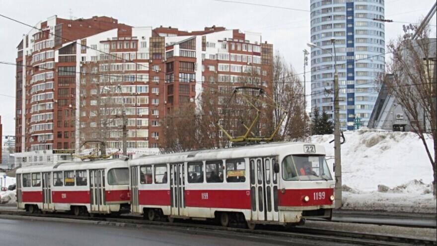 В Самаре трамвайные маршруты №5, 20, 22 будут изменены в праздники