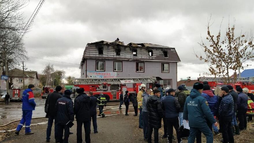 В Самаре прокуроры выехали на место пожара в доме на улице Промышленности