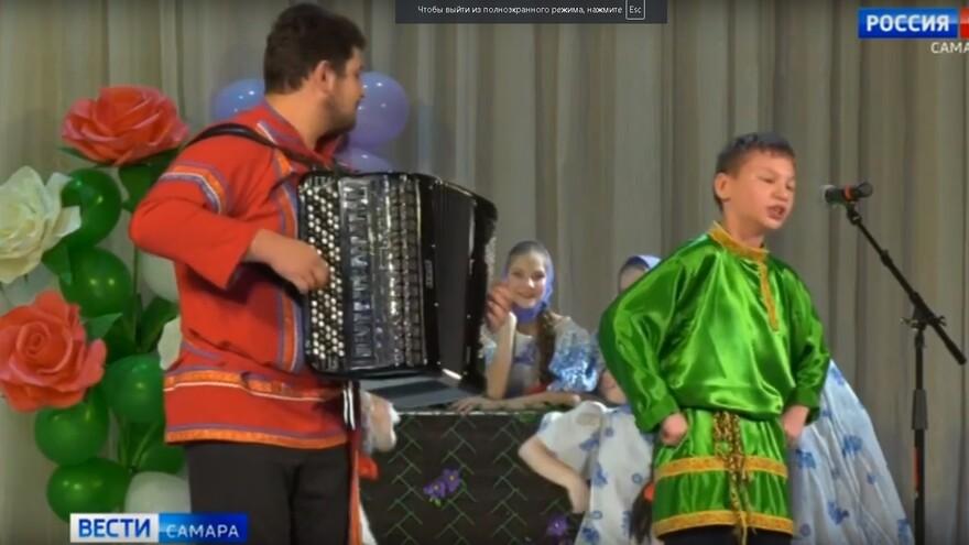 В Самаре прошел фестиваль творчества детей с ограниченными возможностями