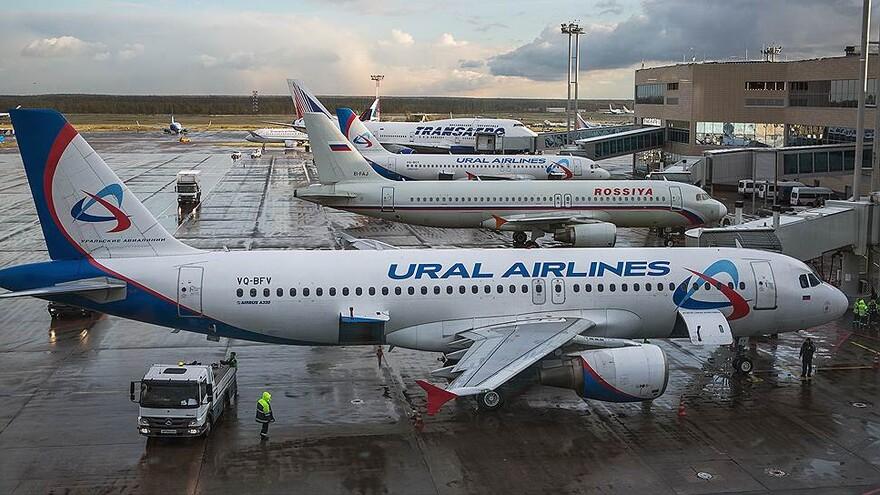 В Самаре вынужденно сел самолет из Москвы